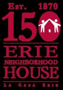 Erie House 150th Anniversary Logo